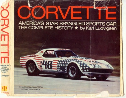Corvette Stingray 1972 on Front Cover Is John Greenwood S 1971 All Star Road Car At Speed